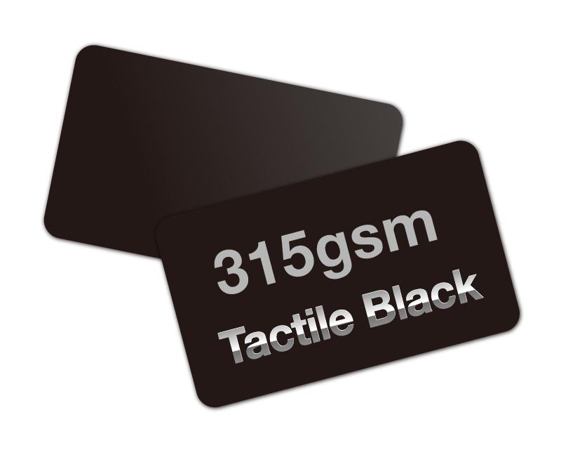 tactile black paper cards  315gsmunique stock cards