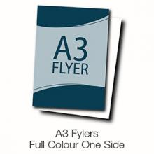 A3 Flyers - Full Colour One Side