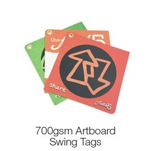 Double Layered Swing Tags - 700gsm