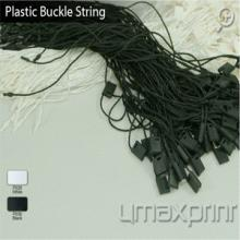 Plastic buckle strings