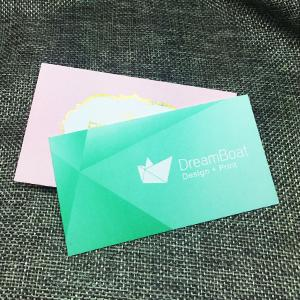 Uncoated Business Cards - 300gsm+