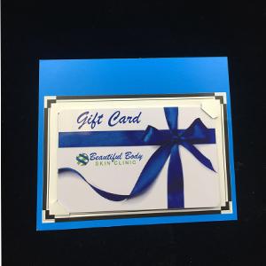 Backing Card With Card Slits