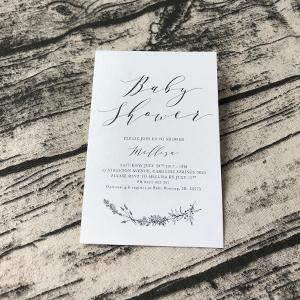 Wild Cotton Invitations - DL size