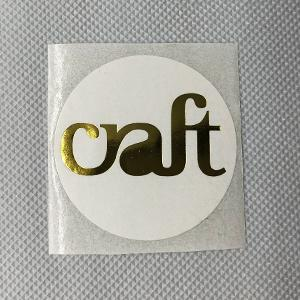 Paper - Foil / Emboss Only Stickers