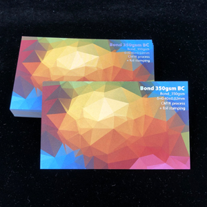 Free Sample Cards -Bond 350gsm