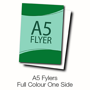 A5 Flyers - Full Colour One Side