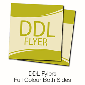DDL Flyers - Full Colour Both Sides