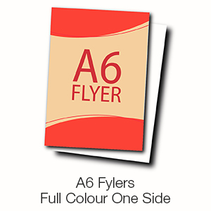 A6 Flyers - Full Colour One Side