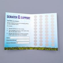 Special Scratch Cards - Request quote